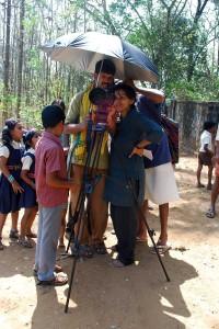 Shooting of 'Moorikkalam', the short film